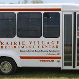 Prairie Village Retirement Center Bus